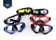 ABS Plastic Frame Motorcycle Helmet Accessories , PC Lens X400 Atv Helmet Goggles