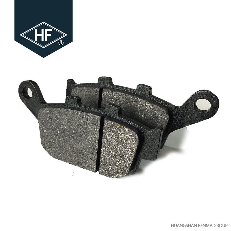 CG125 / 150 Titan Motorcycle Brake Pads Stable Performance 3 - 4mm Thickness