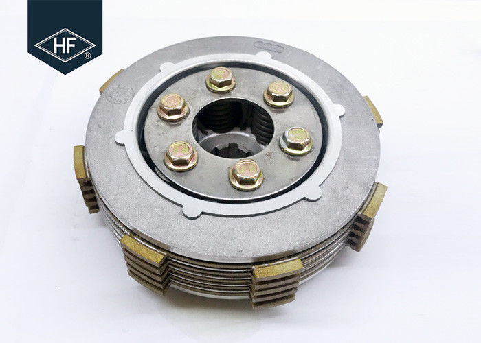 Manual Motorcycle Clutch Assembly For BAJAJ CT100 BM100 With 5 Pcs Plates