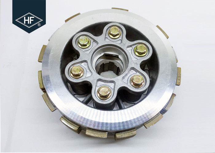 200cc Motorcycle Clutch Parts , Centre CG200 Wet Clutch And Pressure Plate Kit