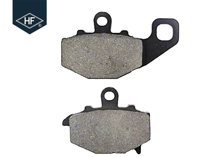 3mm Front / Rear Motorcycle Brake Pads Non Asbestos Black Color For KTM